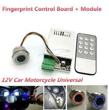 12V Fingerprint Control Board Module LED One Key Start Motorcycle Access Control