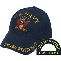 U.S. Navy Logo Hat Black