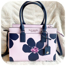 Kate Spade Cameron Grand Flora Medium Satchel Serendipity Pink Great Gift
