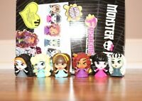 MONSTER HIGH FASHEMS COMPLETE SERIES 1 MINI TOY LOT