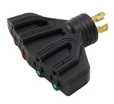Multi-Outlet Adapter for Generator NEMA L14-30P to 4 NEMA 5-20R by AC WORKS™