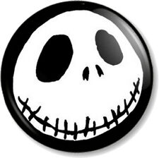 """Jack Skellington 25mm 1"""" Pin Button Badge The Nightmare Before Christmas Xmas"""