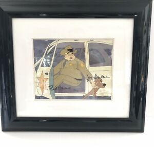 RARE REAL SCOOBY-DOO SIGNED HANNA BARBARA PRODUCTION ANIME CEL AUTHENTICATED