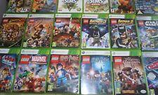 Lego Xbox 360 Game for Kids Buy 1 Or Bundle Up PAL UK
