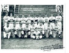 1949 Vancouver Capilanos 8X10 Team Photo Baseball Canada Sheely