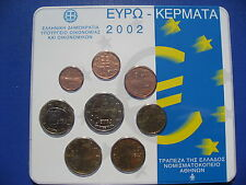 Greece 2002 - Official Euro Coin Set