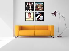 "4 Frame Wall Art 12"" Album Display Frames Vinyl LP Record Cover Sleeve Music"