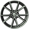 4x 19 inch x 8 AIACE SET of Wheels for AUDI A3 S3 - OEM COMPATIBLE (ITALY)