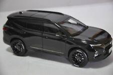 Chevrolet Blazer RS car model in scale 1:18 Black