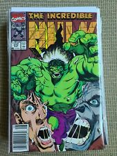 The Incredible Hulk # 372 (1st Series) 1990 Marvel newsstand