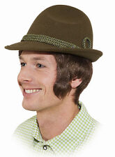 Tiroler Hut grün mit Kordel NEU - Karneval Fasching Hut Mütze Kopfbedeckung