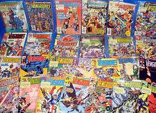 Lote de comics LOS VENGADORES etapa G.Perez -31 numeros