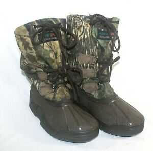 ASPEN Hunting Boots Mens 8 Waterproof Rubber Sport Outdoor