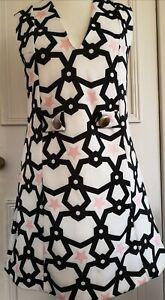 Zara Mod Vintage Style Dress M