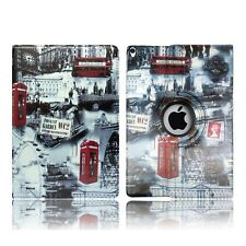 Leather Flip Book Stand Folio Protect Case Cover for Apple iPad Mini 4 iPad Air 2 City of London - Westminster Big Ben United Kingdo
