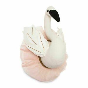Pillowfort Swan Head Wall Decor Pink And White Tulle Skirt Hanging Plush GIRLS