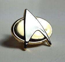 "Star Trek Next Generation Communicator 3/4"" Enamel Pin- FREE S&H (DMPI-Comm)"