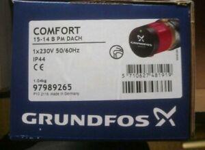 Grundfos Zirkulationspumpe Comfort 15-14 B PM 97989265 Umwälzpumpe Neu