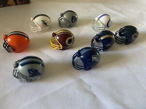 Nfl Mini Helmet Assortment Multiple Teams Plastic Cowboys Chiefs Raider Chargers