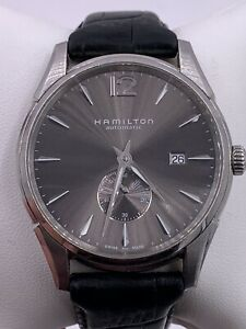 Mens Hamilton Automatic Date 2895 Stainless Steel Watch