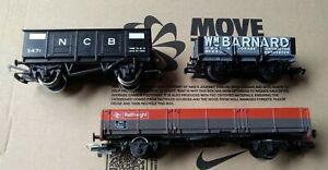 Hornby, Rake Of Coal Wagons... X3 OO Scale.. Cheapest Listed