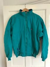 PATAGONIA Fleece Lined Bomber Jacket - M - Olive / Blue - Great condition