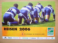 .Sport Postcard- WORLD CUP 2006- REISEN 2006 (GERMANY 2006 DEUTSCHLAND)