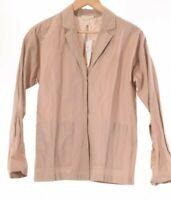 Eileen Fisher NWT Oversized Blazer Size XS in Bramble/Tan $298