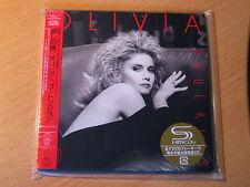 """OLIVIA NEWTON-JOHN """"Soul Kiss"""" Japan mini LP SHM CD"""