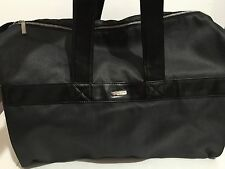01737f2ef96f Armani Code Luxury Men s Gray Black Duffle Bag.