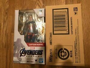 Bandai S.H.Figuarts Captain Marvel (Avengers / End Game) Japan version