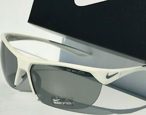 NEW* NIKE Trainer S White w Grey Small face or Womens Sunglass Ev1064 100