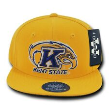 Kent State University KSU Golden Flashes NCAA Flat Bill Snapback Baseball Hat