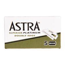 Astra Superior Platinum Double Edge Razor Blades (5)