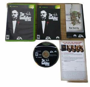 The Godfather Game Microsoft Original Xbox Complete CIB Disc Manual Map EA 2006