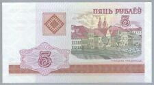 Banknote Weißrussland / Belarus - 5 Rubel - 2000 - UNC
