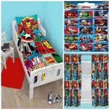 Ropa de cama Marvel color principal multicolor de microfibra para niños