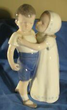 "Bing & Grondahl ""Love Refused"" Girl & Boy Figurine Mint Condition"