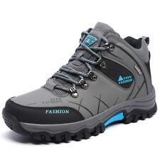 US Mens Trail Hiking Boots Dynamic Waterproof Antiskid Winter Trek Outdoor Shoes