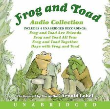 Frog and Toad : Audio Coollection by Arnold Lobel (2004, CD, Unabridged)