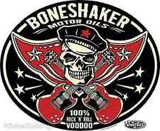 Mini Size Boneshaker Motor Oils STICKER Decal Artist Vince Ray VR50B