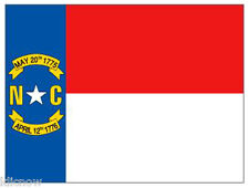 NORTH CAROLINA FLAG 5FT X 3FT