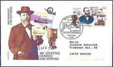 BRD 1997: Heinrich von Stephan! FDC nr 1912! timbro di Berlino! andate! 1a 1705