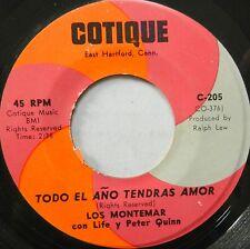 LOS MONTEMAR con LIFE y PETER QUINN 45 Todo el Ano Tendras Amor COTIQUE #C179