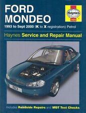 Ford Mondeo Petrol (93 - Sept 00) Haynes Repair Manual: 1993 to Sept 2000 (K to