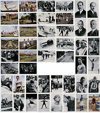 46 FICHES JEUX OLYMPIQUES BERLIN - OLYMPIA 1936 - BAND I BILDER-GRUPPE 54