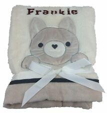 Personalised Deluxe Cat Blanket. Luxurious wrap
