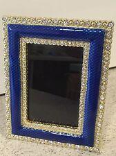 Faberge Enamel Crystal Blue Rectangular Photo Frame Metropolitan Museum Of Art