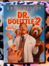 New Sealed Dr. Dolittle 2 (DVD, 2001, Widescreen)e Eddie Murphy