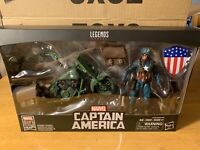 Marvel Legends 80 Years Rider Series Captain America with Motorcycle In Hand!